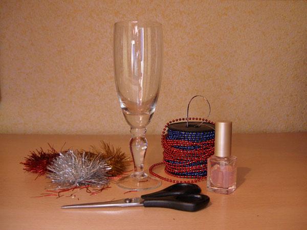 Украшаем шампанское на свадьбу своими руками лентами