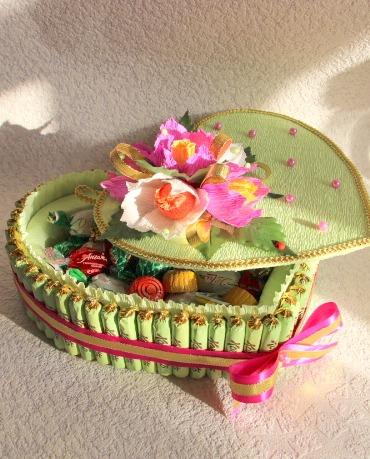 Торт-шкатулка своими руками